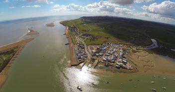 Aerial Imagery – Felixstowe Ferry