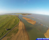 Aerial Imagery – Bar at Low Tide