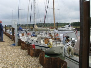 Last cruise of year was to the brand new facility at Woodbridge Tide Mill