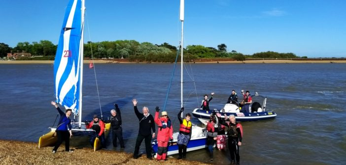 Try Sailing with Felixstowe Ferry Sailing Club – Saturday 5th & Sunday 20th May 2018