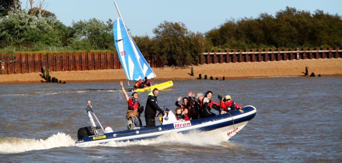 Powerboat Rides & Try Sailing with Felixstowe Ferry Sailing Club – Monday 27th August 2018