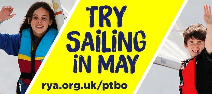 Try Sailing! – Bank Holiday Monday – Powerboat Rides and Free Sailing