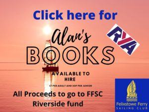 RYA, Library, reference books, FFSC, Riverside fund, Alan Rutterford,